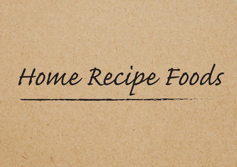 Home Recipe 1 1